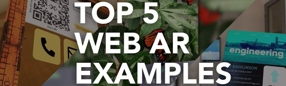 Best Web AR Examples in 2020