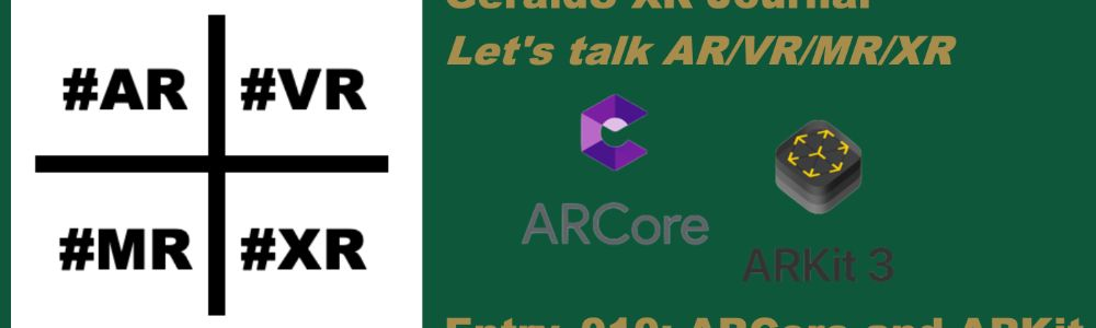 Entry_010: ARCore and ARKit
