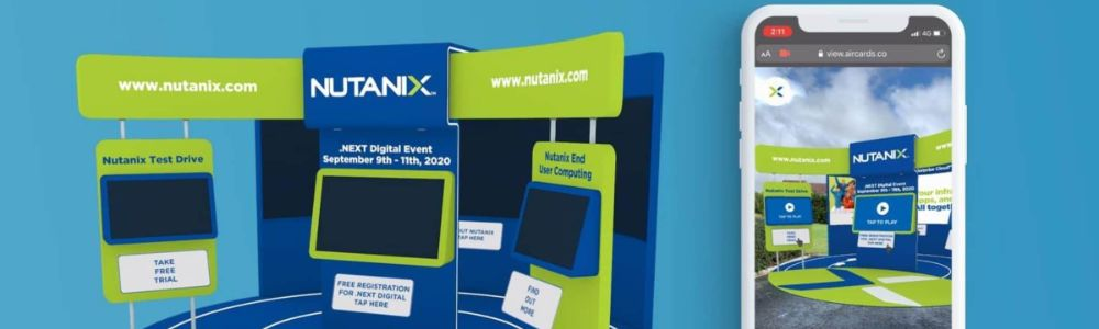 Nutanix Launch Immersive Virtual Event Space In WebAR