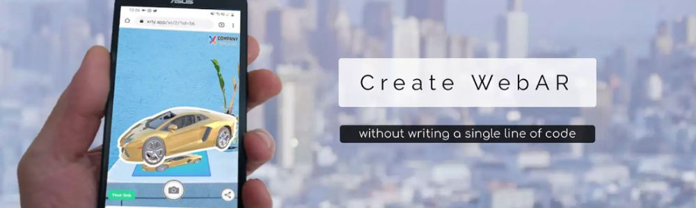 Create WebAR Campaign in simple 3 steps
