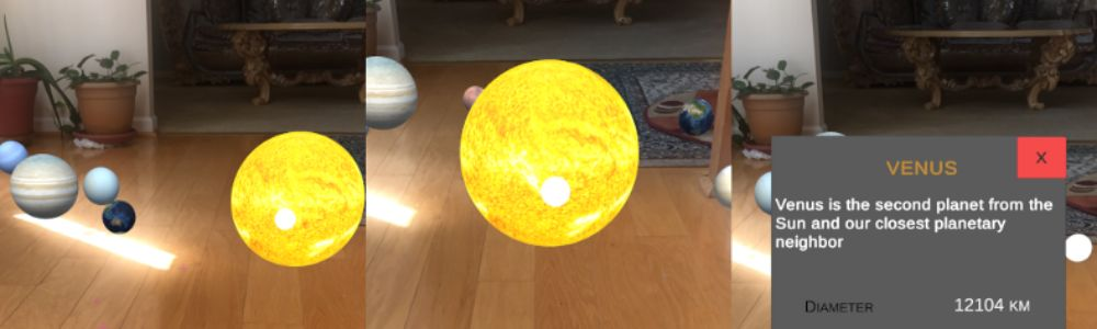 How to Create the Solar System in AR in 15 Minutes or Less