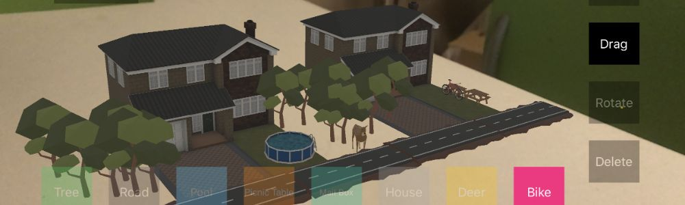 How to Build a Virtual Town in AR in 15 Minutes or Less