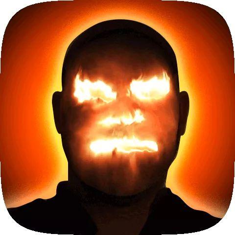 Fire Face AR Instagram Filter