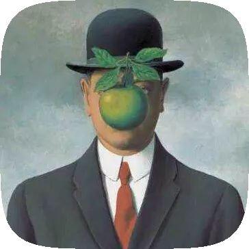 René Magritte AR Instagram Filter
