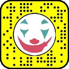JOKER Snapchat
