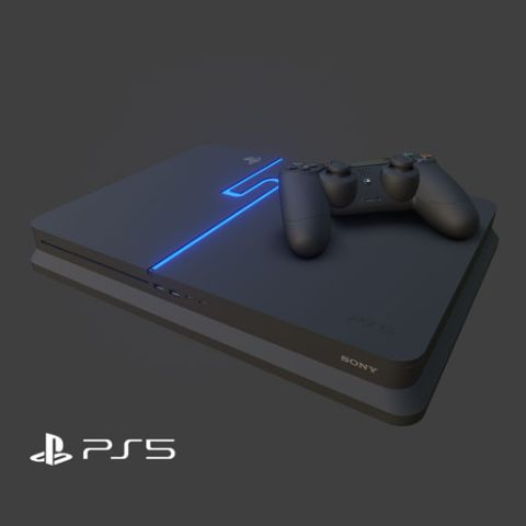 PS5 Concept in WebAR via Blippar