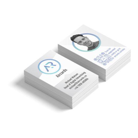 AR 'Living' Business Card