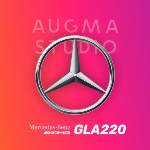 Mercedes GLA-220 AMG (Try-on)