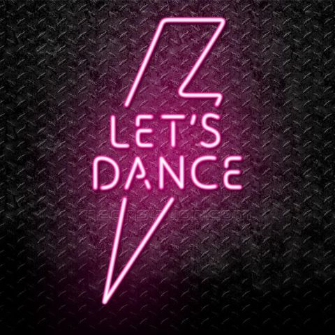 Dance with the neon lights