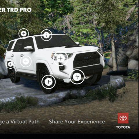 Toyota TRD Pro AR Experience