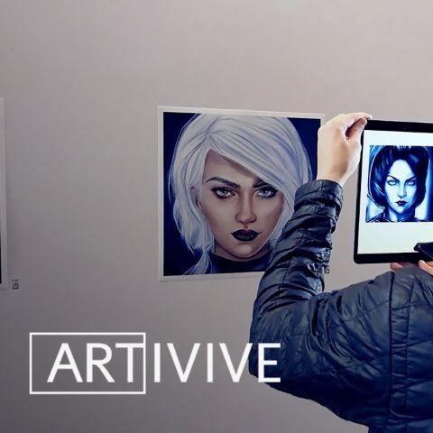 "AR Art ""Reclaiming the Future"""