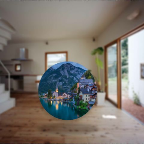 AR Portals for Virtual Traveling