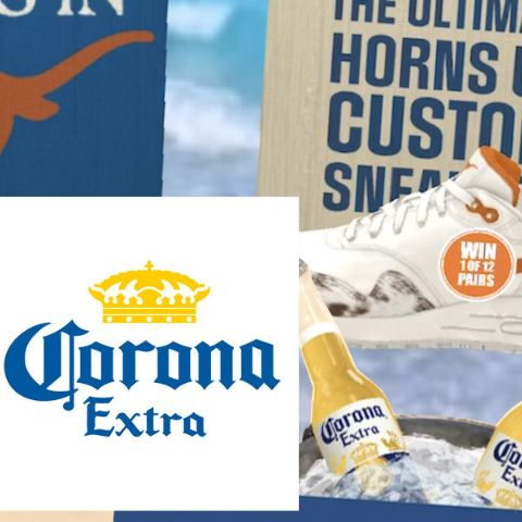 Corona Campaign for Custom Sneakers