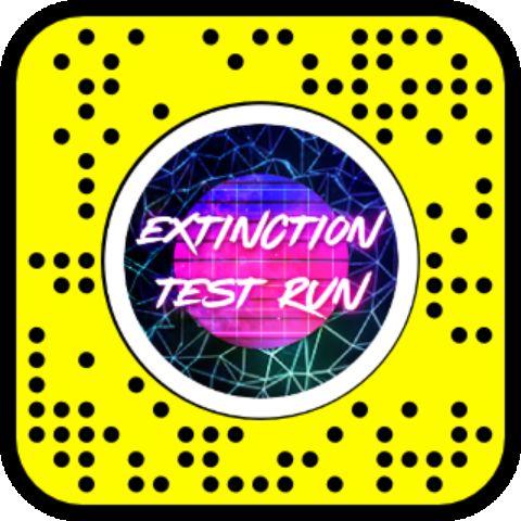 Extinction Test Run