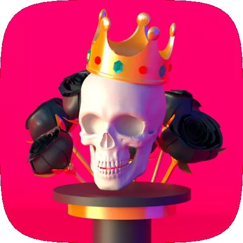 Skeleton King AR Instagram Filter