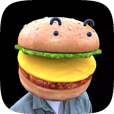 Burger Face AR