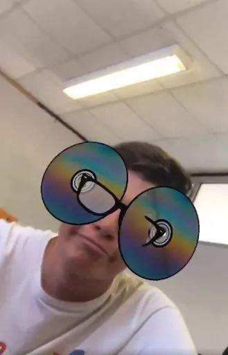 CD Glasses AR Instagram Filter
