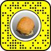Burger Face AR lens