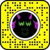 Purple Devil Mask