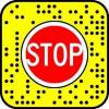 Stop Hand Snapchat AR lens