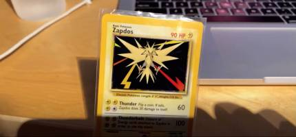 Pokemon cards holographic - ARKit