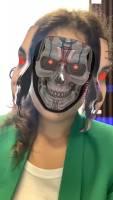 Mask Terminator Kawhi Leonard - Spark AR