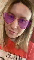 Big Pink Glasses - Spark AR