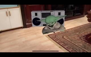 Baby Yoda AR - ARKit