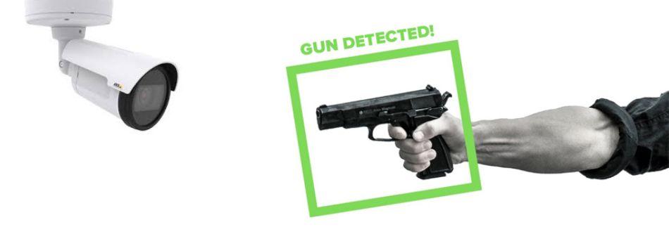 Machine Learning AI gun detection system