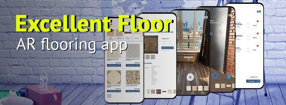 AR flooring app development
